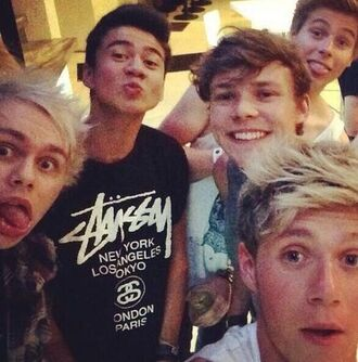 calum hood 5 seconds of summer niall horan one direction band t-shirt shirt