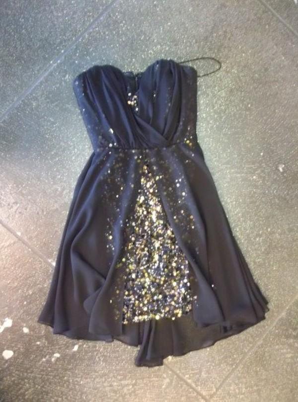 dress navy gold sequins gold sequins gold sequins dress layered chiffon glitter sparkle glitter dress sequin dress sparkle sleeveless