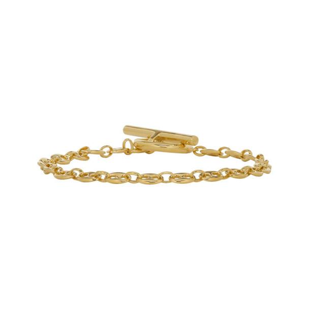 All Blues Gold Coffee Beans Bracelet