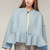 Oversized Minimal Peplum Jacket  by storets | Chictopia