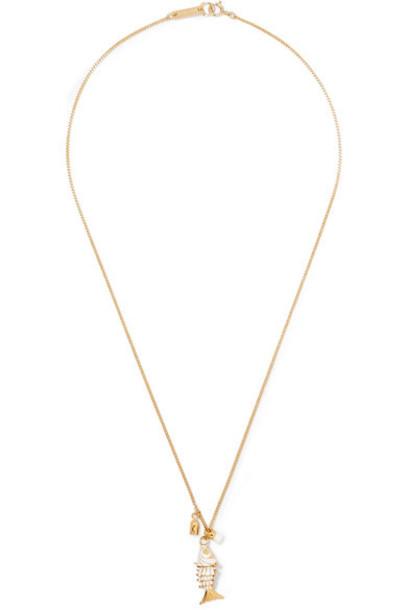 Isabel Marant necklace gold jewels