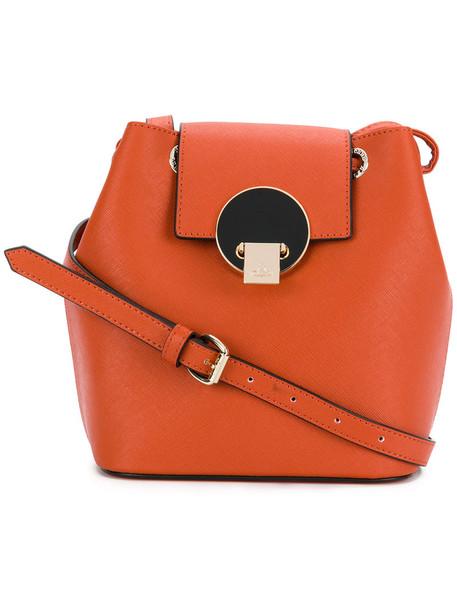 Vivienne Westwood women bag leather yellow orange
