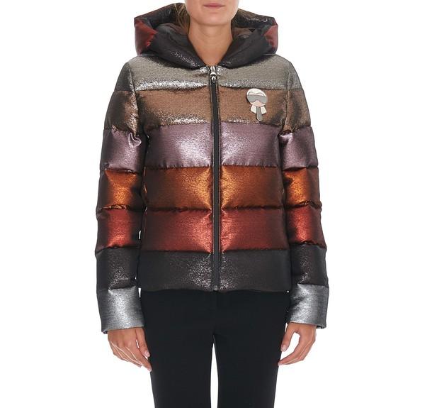 Fendi jacket down jacket multicolor