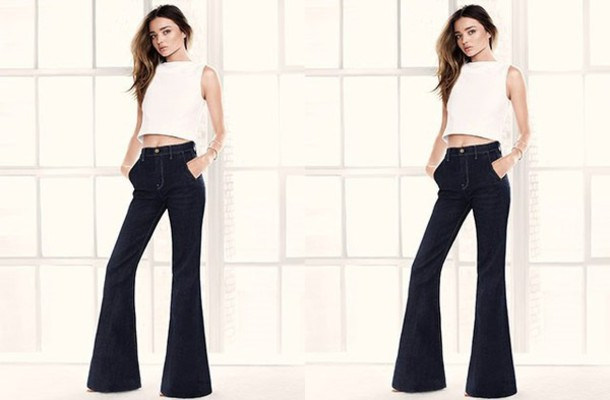 jeans miranda kerr top