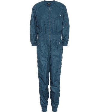 jumpsuit cotton blue