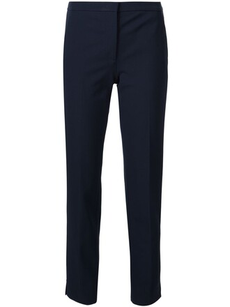 women spandex blue pants
