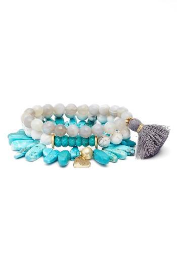 Love's Affect Set of 3 Stretch Bracelets | Nordstrom