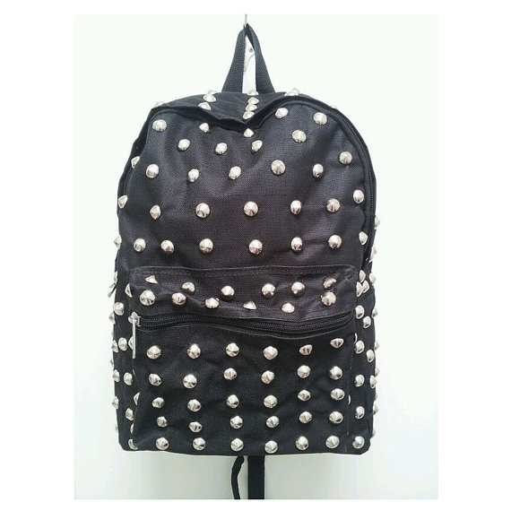 Street Style Studded Backpack by RudeBoyClothing on Etsy