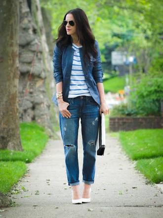 bittersweet colours jeans shoes jacket t-shirt sunglasses bag