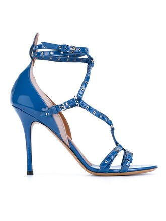 love sandals blue shoes