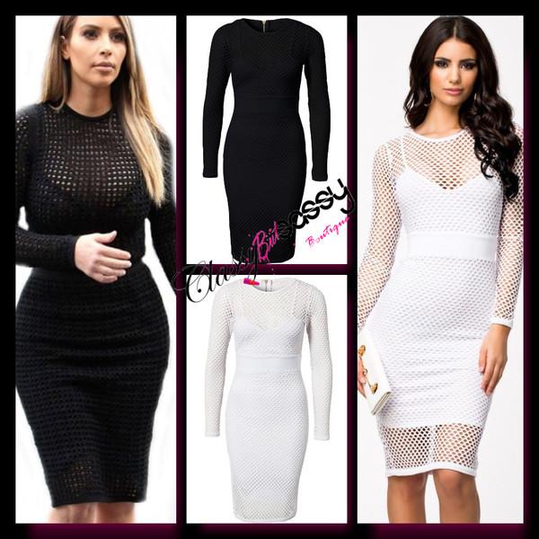 celebrity style celebrity style bodycon dress fishnet dress netted dress