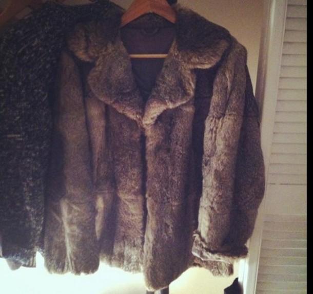 coat fox fur fur coat fox fur fourrure