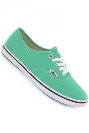 Vans Authentic Lo Pro Schuh girls (mint leaf true white) kaufen bei skatedeluxe