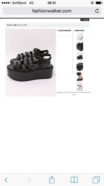 shoes platform sandals