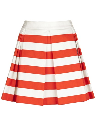 Robert Rodriguez Striped Skirt -  - Farfetch.com