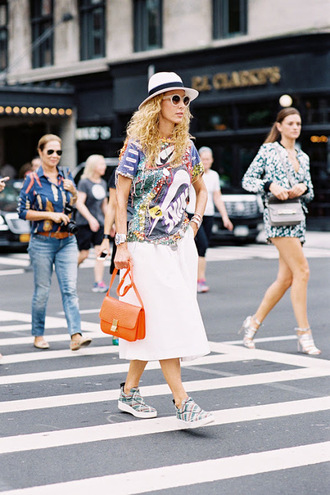 vanessa jackman blogger bag t-shirt hat shoes