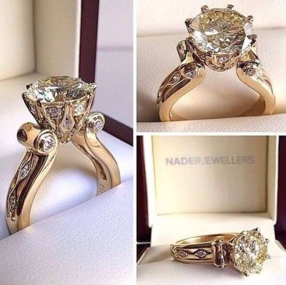 jewels diamonds engagement ring ring gold gold rings