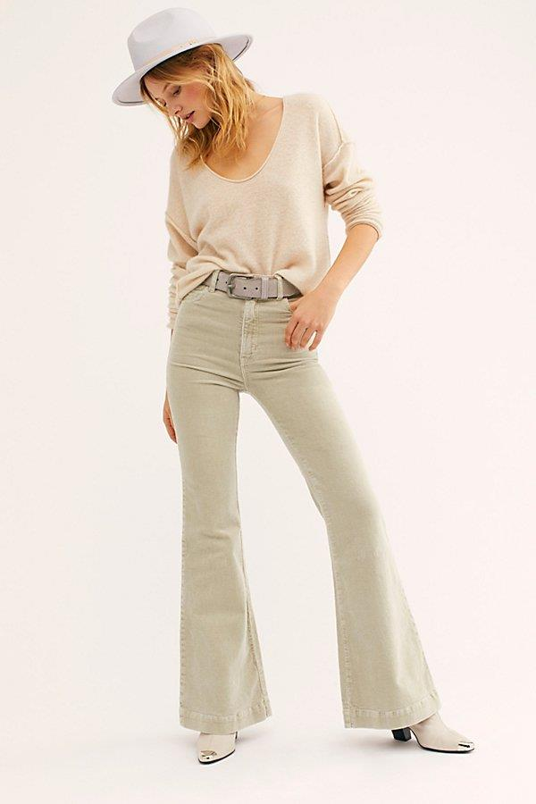 Rolla's East Coast Cord Flare Pants at Free People