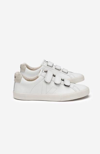 Esplar 3 Locks Sneaker - White