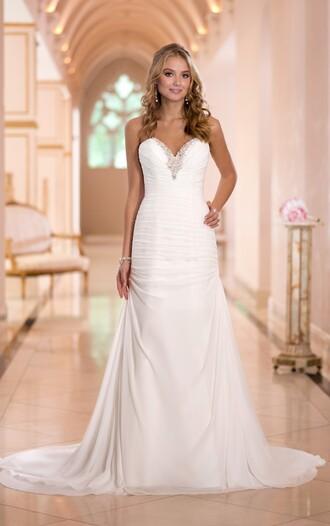 dress wedding dress wedding clothes white wedding dresses beach wedding dress beach dress