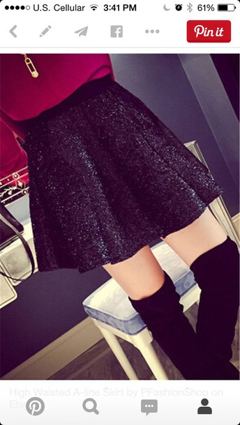 skirt sweater burgundy maroon long sleeve sweater long sleeve sweater burgundy sweater black sequin skirt short skirt black skirt sequin skirt sparkle skirt black sparkle skirt