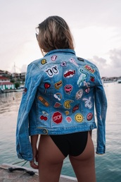 jacket,jeans,denim,denim jacket,outfit,outfit idea,style,patchwork,patch,denim patches,streetwear,streetstyle