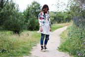 madame rosa,blogger,jacket,dress,pants,shoes