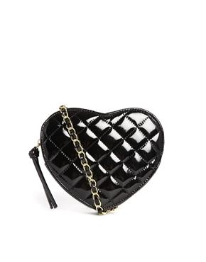 ASOS | ASOS Quilted Heart Cross Body Bag at ASOS
