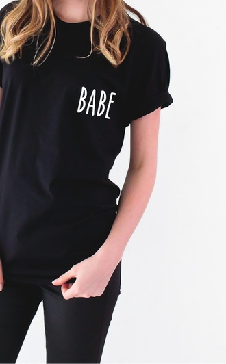 t-shirt nyct clothing babe tee graphic tee babe ootd top top graphic top ootd