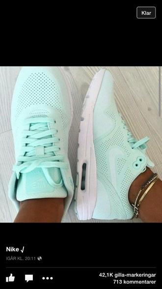 shoes nike mint light green