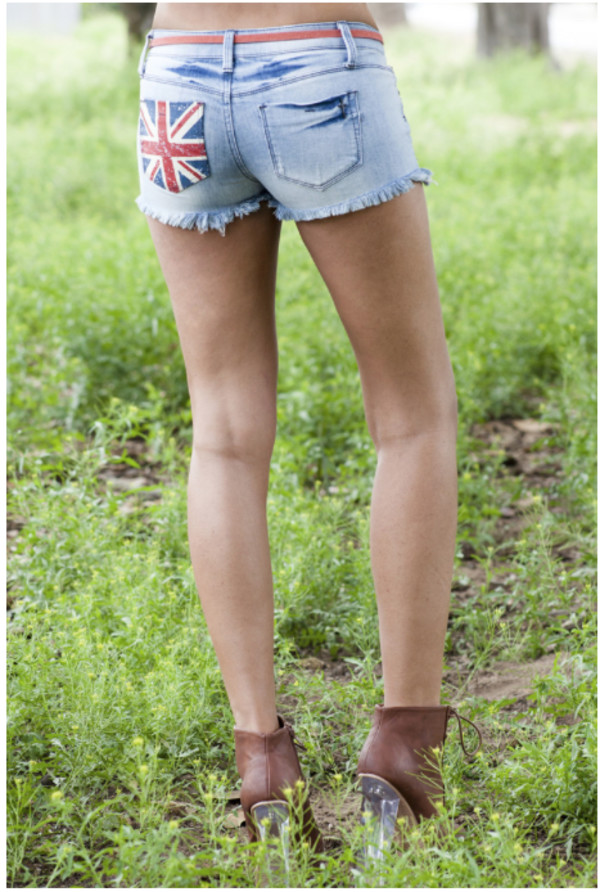 denim denim shorts uk flag uk flag denim shorts vintage hipster hipster style