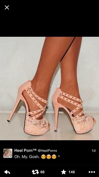 shoes pink shoes lace