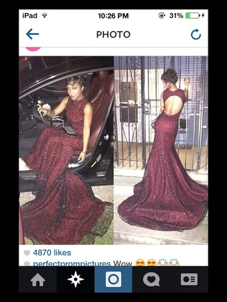 dress burgundy dress prom dress sequin prom dress dresses with trains