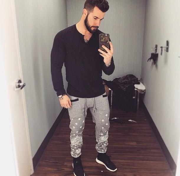 pants menswear joggers pants joggers sweatpants harem pants mens pants urban menswear