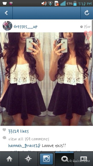 shirt tank top skirt white lace top
