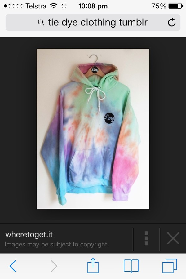 sweater tie dye jacket sweatshirt