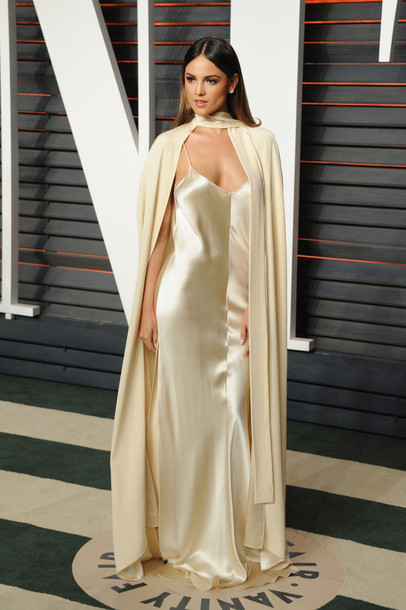 eiza gonzalez oscars 2016 cape long dress maxi dress gown prom dress