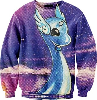 sweater pokemon galaxy print tumblr