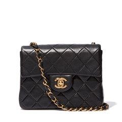 Mini Black Chanel Handbag