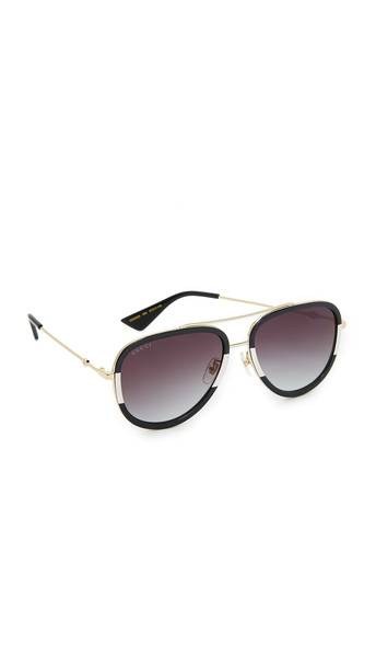 gucci urban sunglasses aviator sunglasses gold grey