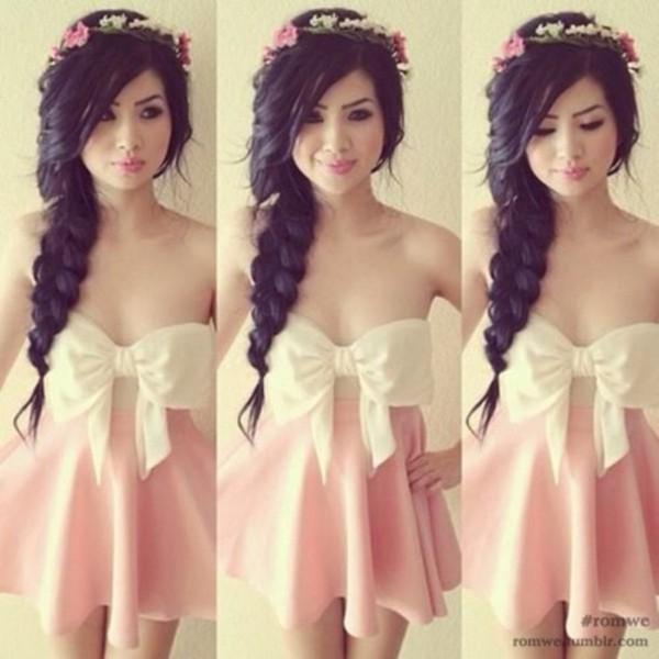 dress cute dress bow