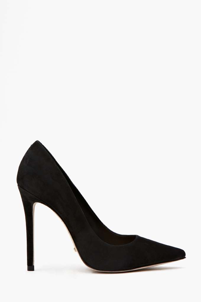 Schutz Libertine Pump - Black  in  Shoes at Nasty Gal