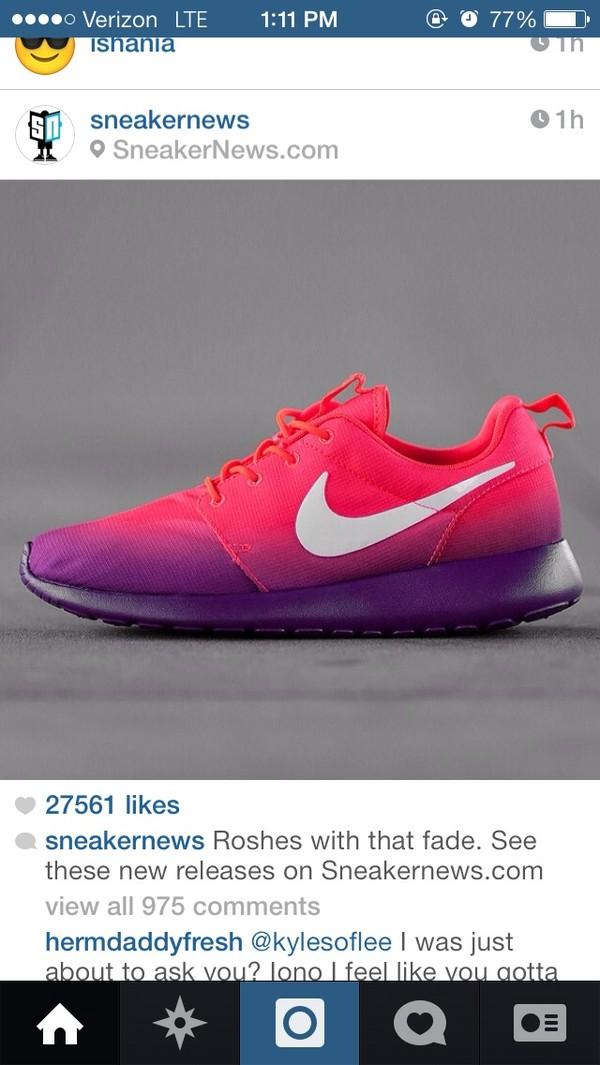 a66a5e42ba5a0 ... new zealand shoes ombre purple nike roshe run wheretoget 2d81f b2024