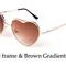 Heart sunglasses - 11 colors