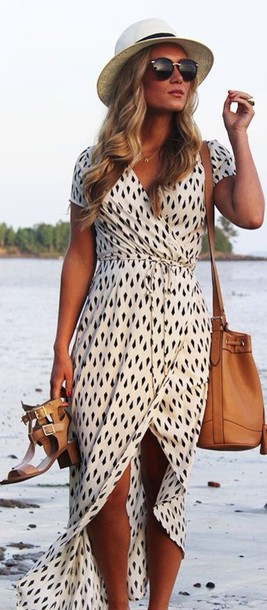 dress maxi dress wrap dress