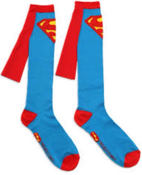 superman socks funny