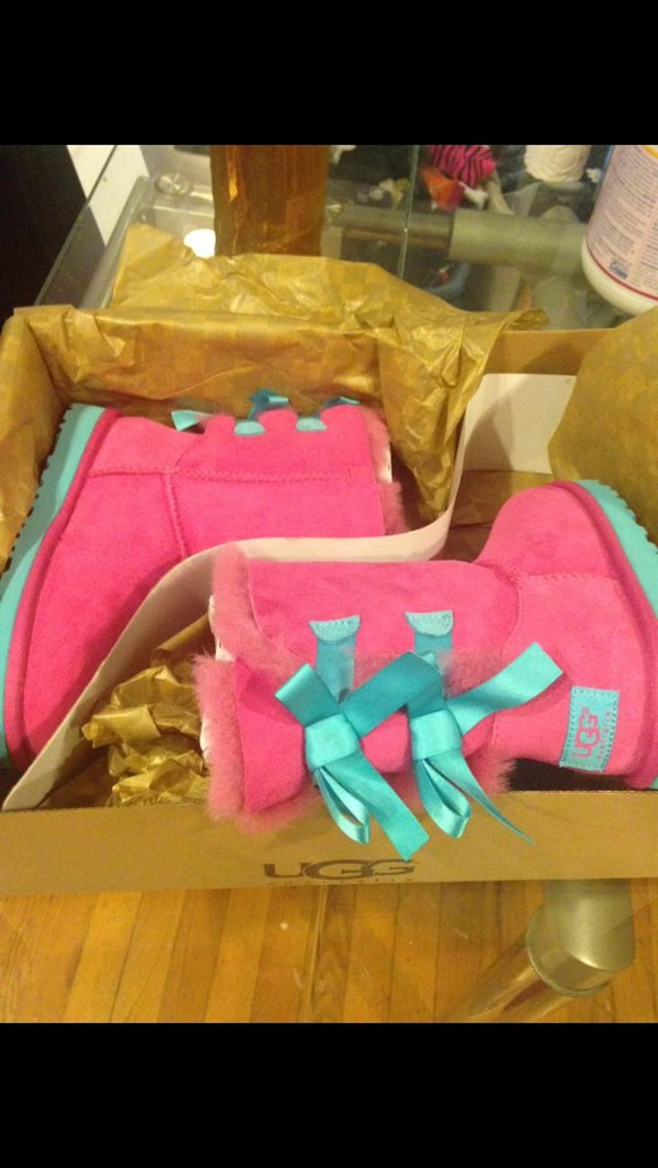 shoes style ugg boots bailey bow