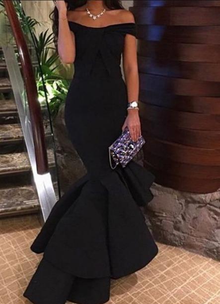 dress prom dress party black dress