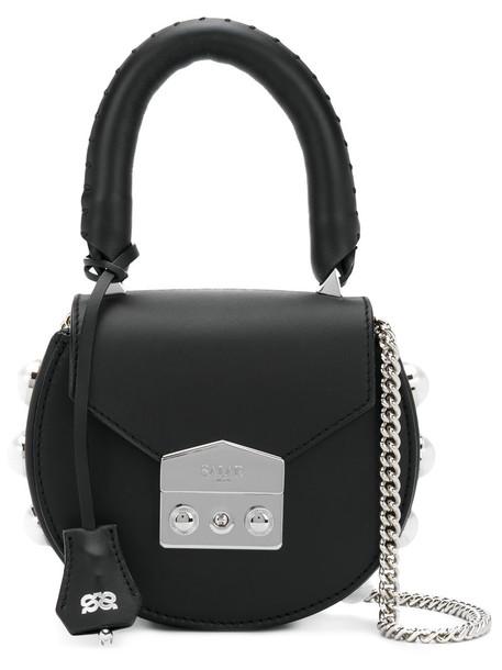 Salar mini shoulder bag mini style women bag shoulder bag leather suede black
