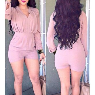 jumpsuit cute girly booty bodysuit body mesh bodysuit